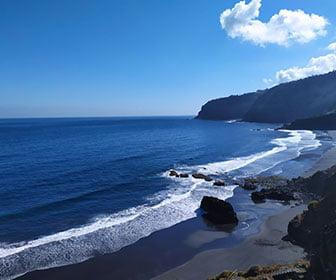 ruta por las playas de tenerife