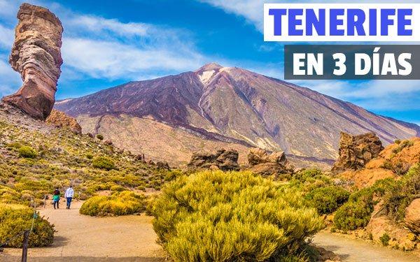 Tenerife en tres dias