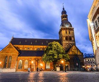 Ruta e itinerario para ver Riga