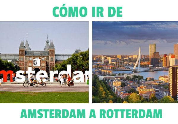 Como ir de Amsterdam a Roterdam