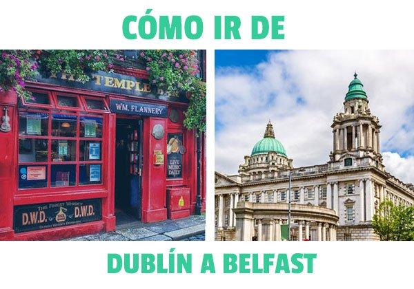 Como ir de Dublin a Belfast