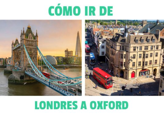 Como ir de Londes a Oxford