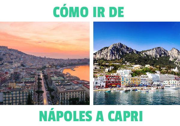 Cómo ir de Napoles a Capri