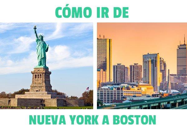 como ir de nueva york a Boston
