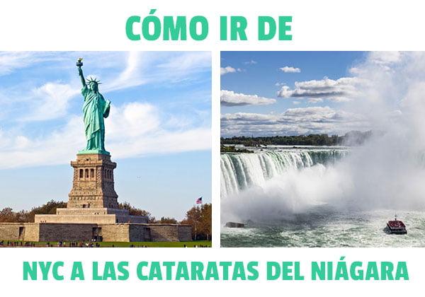 como ir de Nueva York a las Cataratas del Niágara