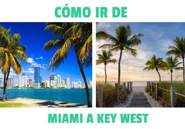 como ir de miami a key west (Cayo hueso)