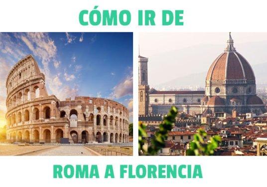 ¿Cómo ir de Roma a florencia?