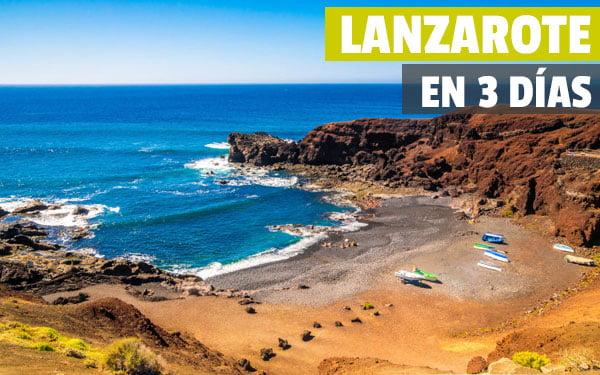 Lanzarote en tres dias