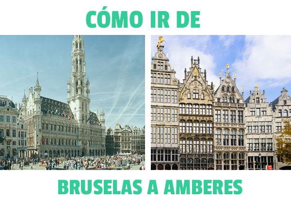 ¿Como ir de Bruselas a Amberes?
