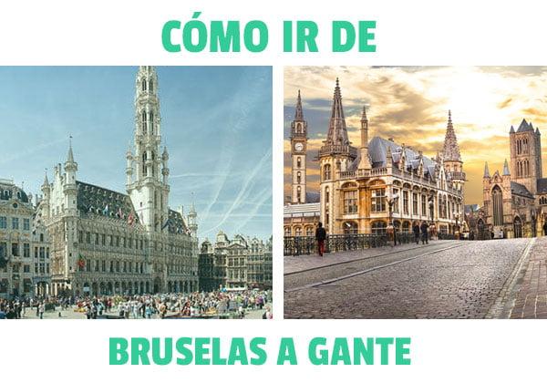 Como ir de bruselas a Gante