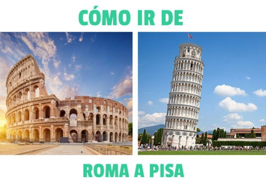 ¿cómo ir de Roma a Pisa?