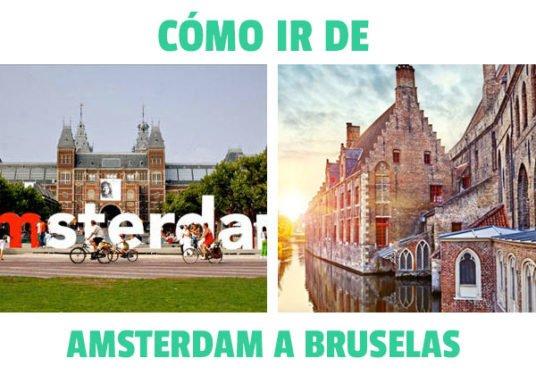 como ir de Amsterdam a Brujas
