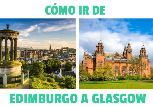 como ir de edimburgo a Glasgow