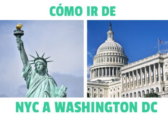 como ir de nueva york a Washington DC
