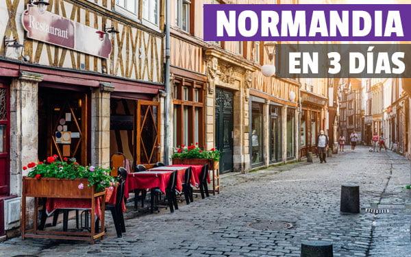normandia en 3 dias