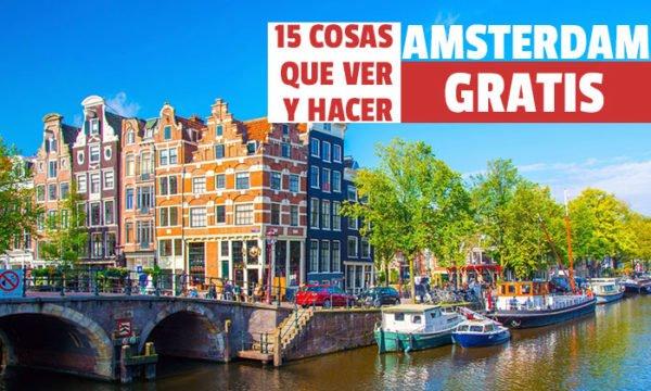 que ver en Amsterdam Gratis