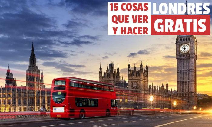 Que ver Gratis en Londres