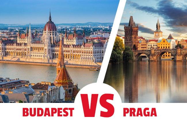 Viajar a Budapest o a praga