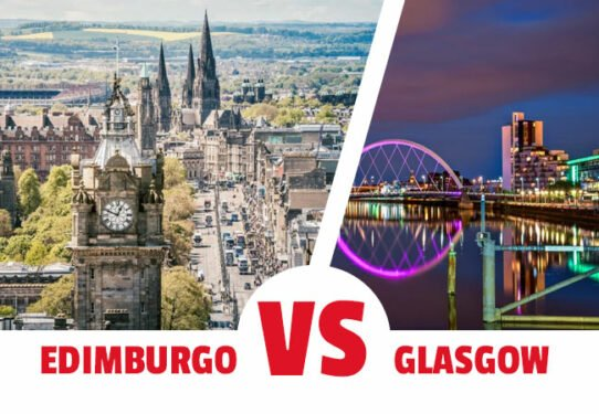 Viajar a Edimburgo o a Glasgow