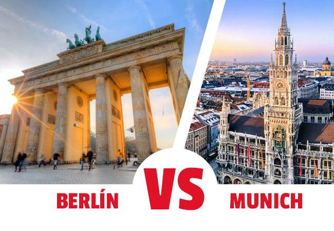 ¿viajar a Berlin o a Munich?