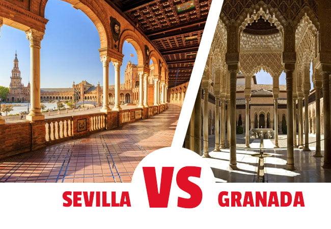 Viajar a Sevilla o a Granada
