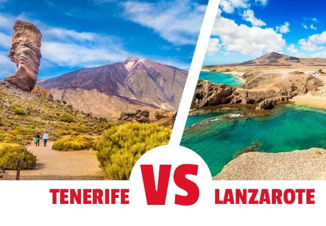 Ir a Tenerife o a Lanzarote