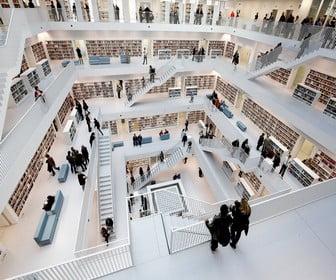 Biblioteca de la ciudad de Stuttgart
