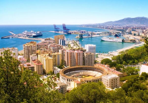 En cuantos dias se ve Malaga