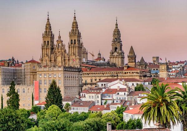 En cuántos días se ve Santiago de Compostela